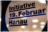 01. Initiative 19. 2. Hanau